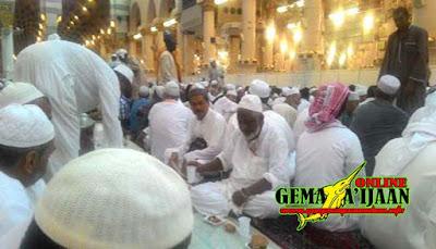 Jamaah Calon Haji Kunjungi Tempat Bersejarah