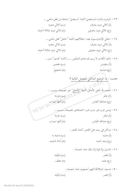 Contoh Soal Masuk Al Azhar Mesir : contoh, masuk, azhar, mesir, Contoh, Beasiswa, Negeri, Terbaru
