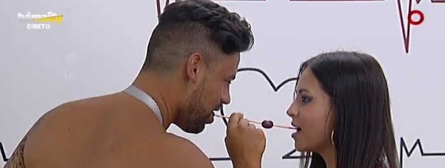 Bruno Esteves tenta agredir a Carolina Roque no Love on Top 4