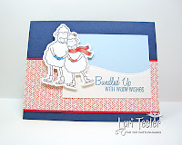 Bundled up with Warm Wishes card-designed by Lori Tecler/Inking Aloud-stamps from The Cat's Pajamas