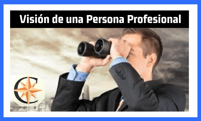 Visión de una Persona Profesional