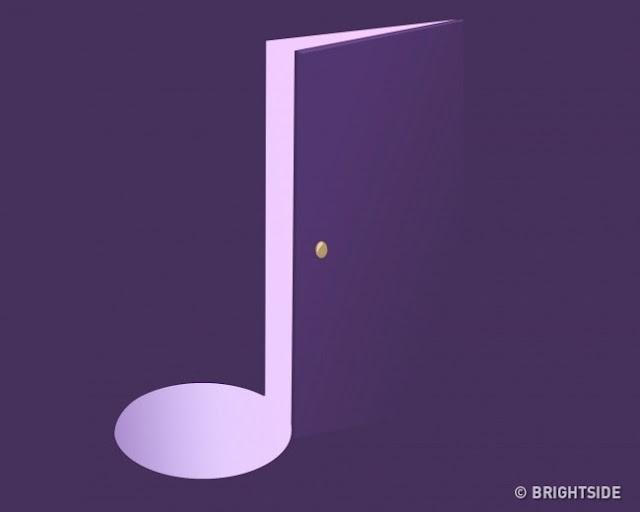 Ελαφρώς ανοιχτή πόρτα ή μουσική νότα;