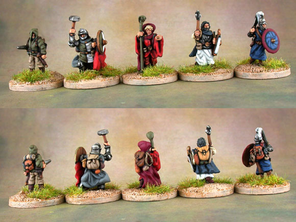 15mm co uk: Steve Dean paints up classic 15mm Tabletop Dungeon Party