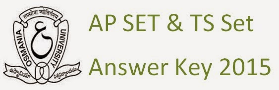 APSET Answer Key 2015
