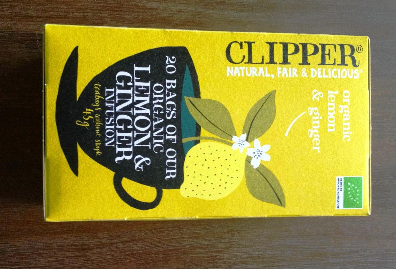 Clipper tea lemon & ginger
