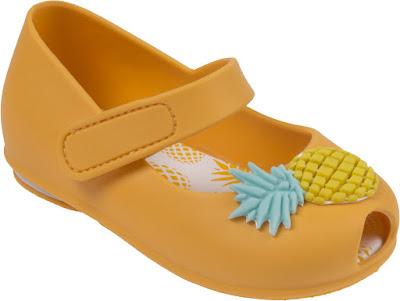 sandalia pimpolho abacaxi