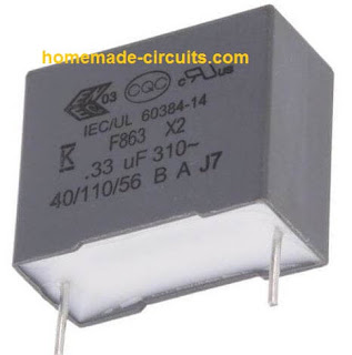 capacitor used in induction heater