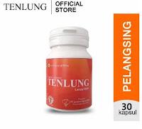 TENLUNG ORIGINAL~ Penurun badan - Perontok Lemak - pelangsing (lancar BAB) Pil Herbal isi 30 Kapsul