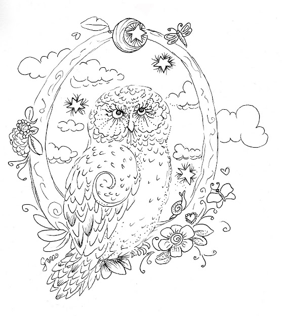 Free Coloring Pages Of Detailed Adult