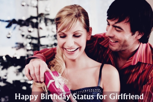 Best Happy Birthday Status for Girlfriend Whatsapp Facebook