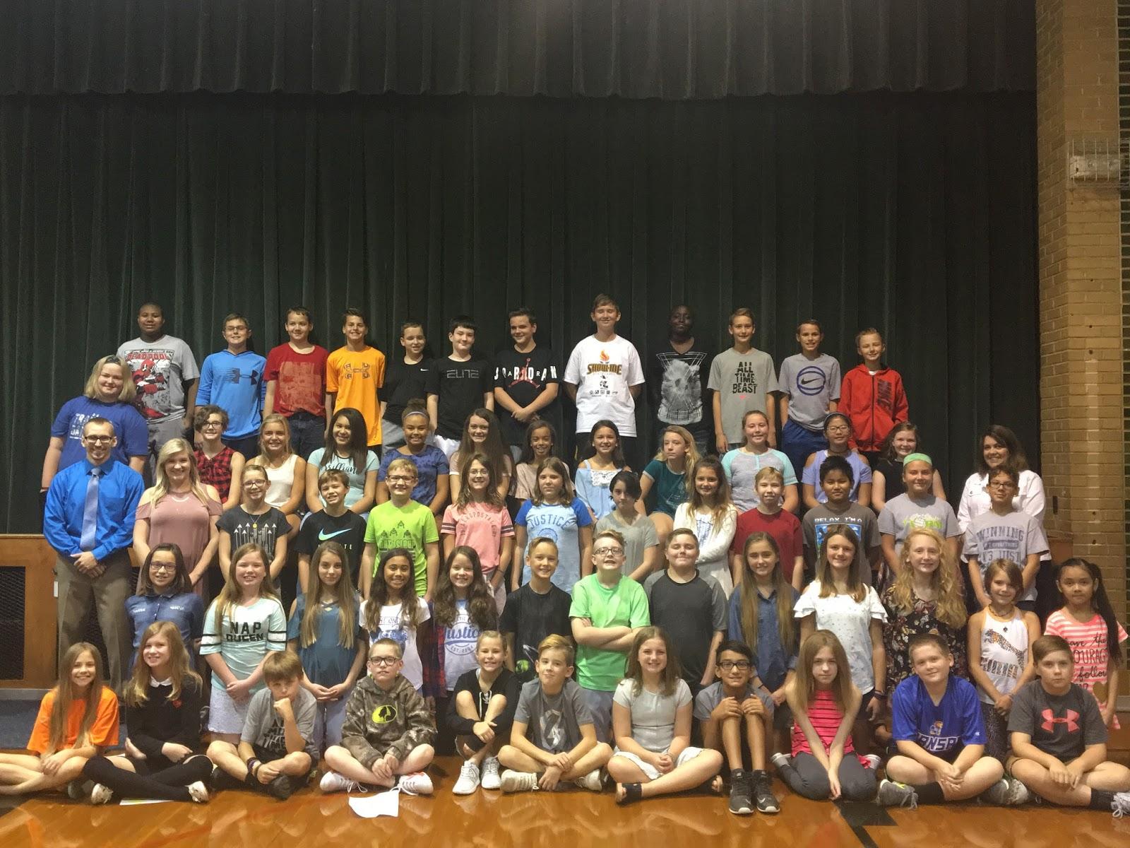 Sixth Grade Classroom Blog