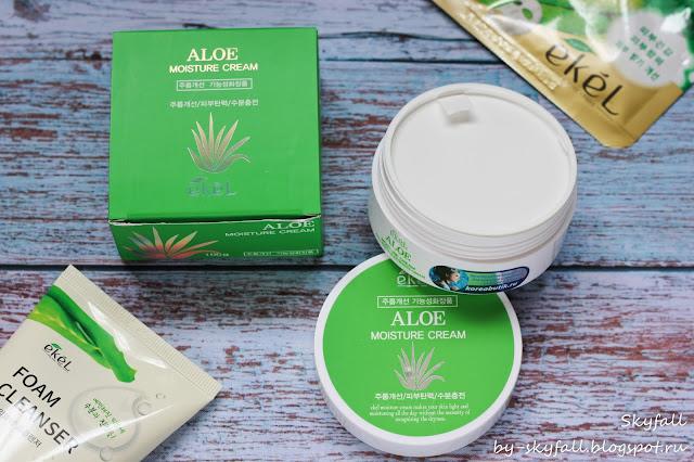 Ekel Aloe Moisture Cream, отзывы