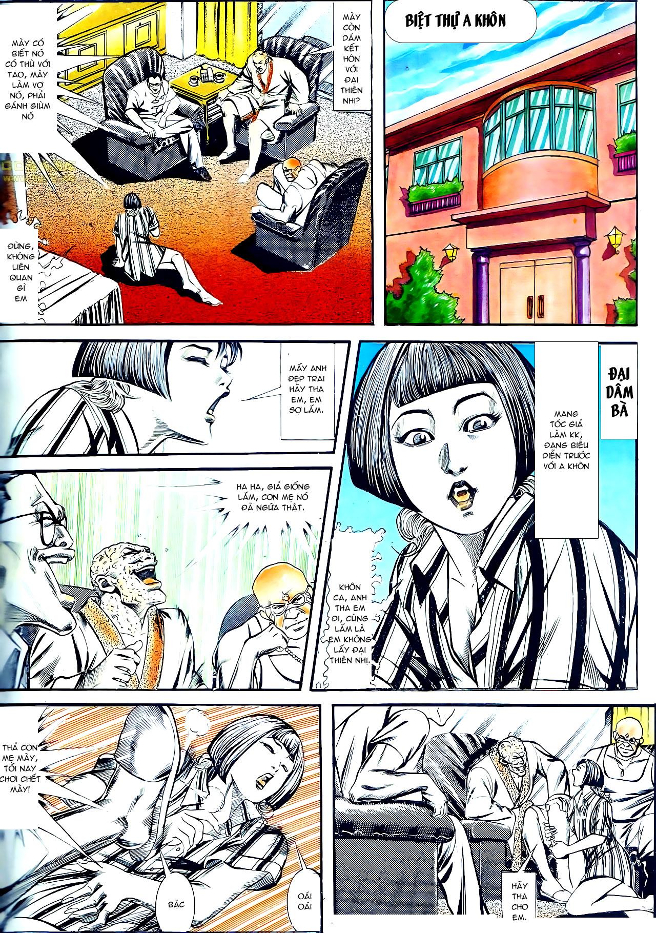 Người Trong Giang Hồ chapter 137: yêu nhất là ai trang 19