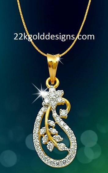 Daily Wear Simple Diamond Pendant