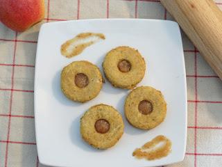 Petits sablés sans gluten sans lactose à la purée de pommes-figues - Côteaux Nantais