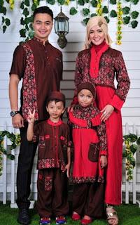 Model Baju Pesta Muslim Keluarga Modern Terbaru