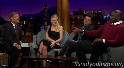 Shaquille O'Neal, John Stamos & Dakota Fanning Are All Laughs