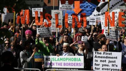Odio antimusulmán e islamofobia detrás de las marchas de EEUU