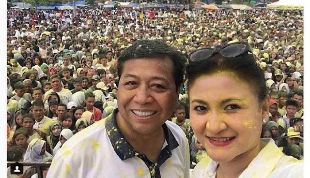 Sanjungan Setya Novanto ke Istri Kutip Ucapan Sukarno