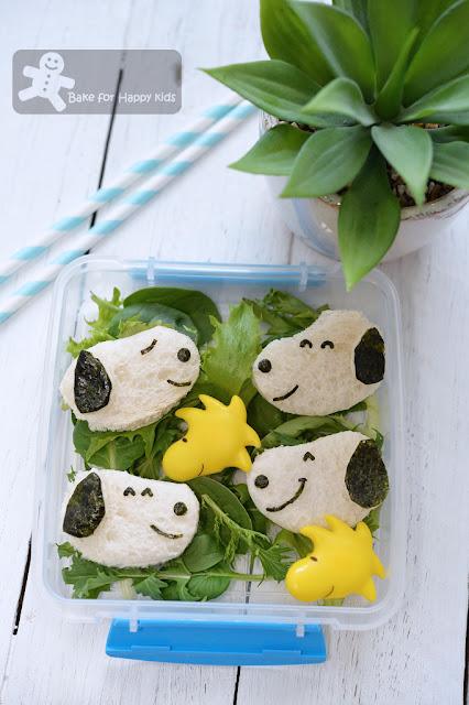 snoopy bread lunch box