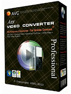 Any Video Converter Professional 6.1.3 Full Version with Serial Key, License Code Free  Download
