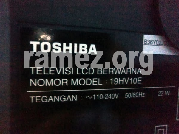 Ulasan Toshiba LED Power TV 19HV10 Regza Junior
