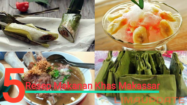 5 Resep Makanan Khas Makassar