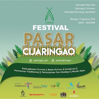 Festival Pasar Cijaringao Bandung