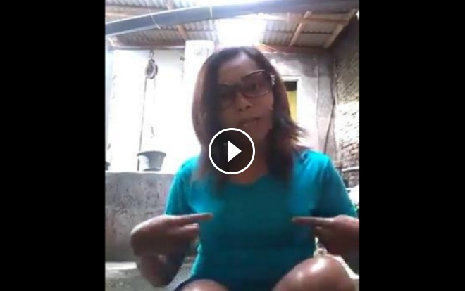 Video Viral Ahoker Minta Potong Payudaranya Jika Anies Sandi Menang