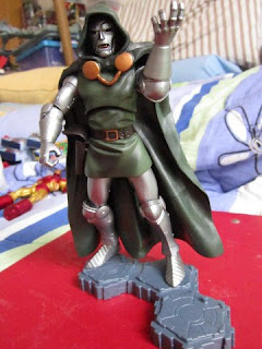 Marvel Legends Dr Doom Doombot Fantastic Four FF4 Future Foundation Universe Figure Factory die cast