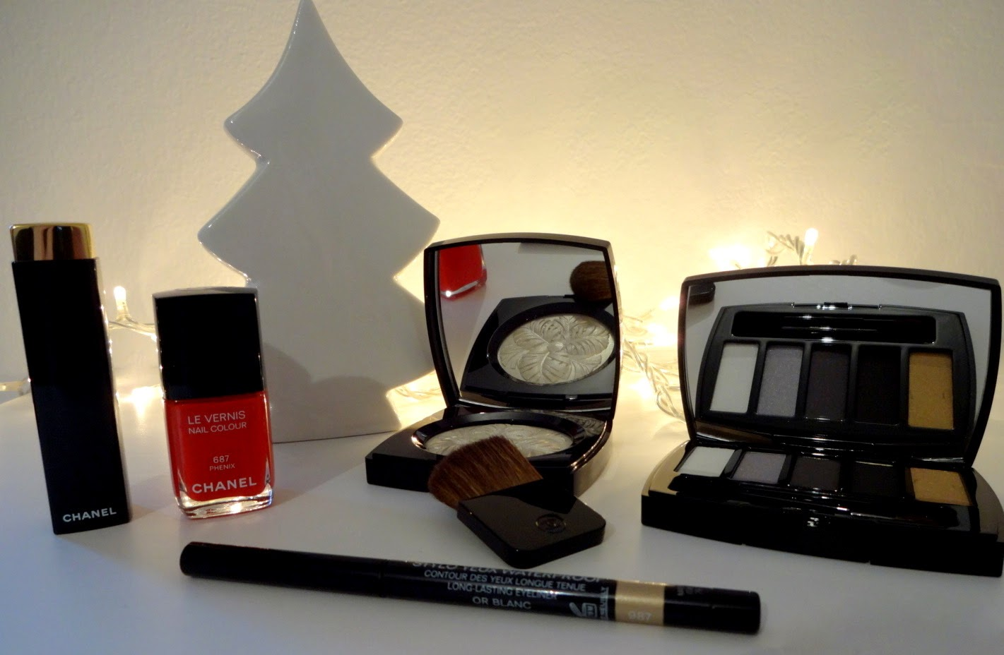 chanel make up christmas collection 2014 natale plumes precieuses