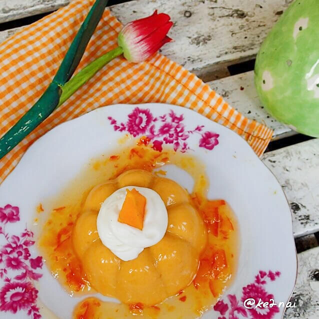 Resep Mango Pudding with Orange Marmalade