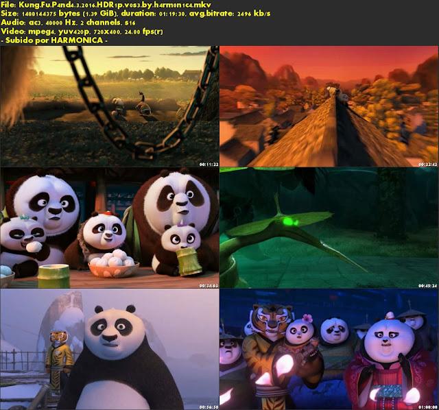 Descargar Kung Fu Panda 3 Subtitulado por MEGA.