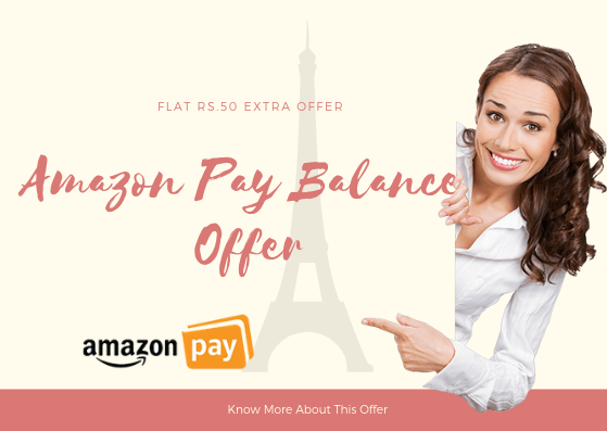 Amazon Pay Balance Cah Load Offer - Get Extra Balance In Amazon Pay Account