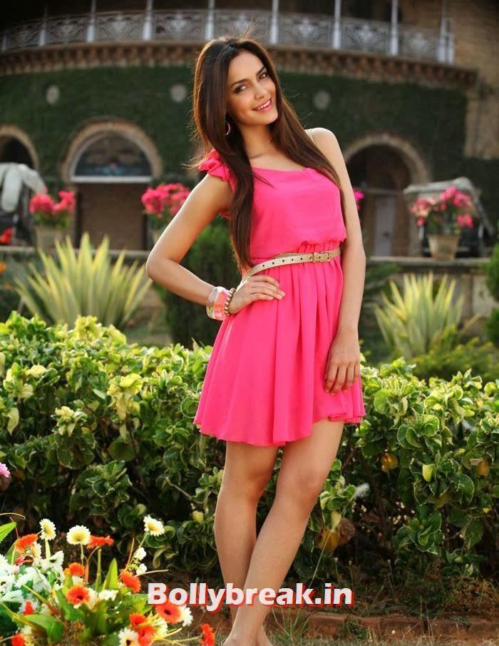 , Shazahn Padamsee Photoshoot in Pink Dress