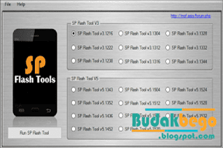 Koleksi Tool SP Flash Tool Semua Versi
