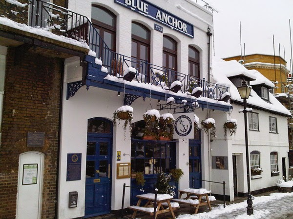 The Blue Anchor Hammersmith.