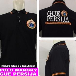 Baju Polo Gue Persija (Berkerah)