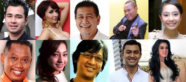 Hasil gambar untuk pendapatan selebriti indonesia