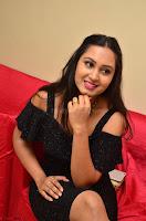 South Actress Amulya in short black dress at Kalamandir Foundation 7th anniversary Celebrations ~  Actress Galleries 067.JPG