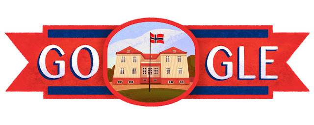 Norway National Day 2016 - Google Doodle