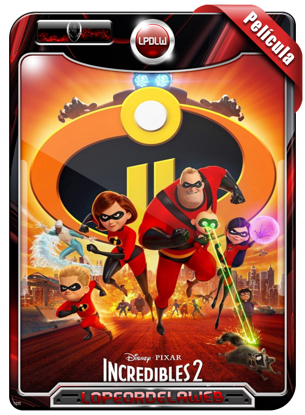 The Incredibles 2 (2018) | Los Increíbles 2 [720p H264 Dual]