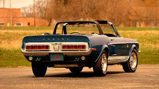 1968 Ford Mustang Shelby GT500KR Convertible Rear Right