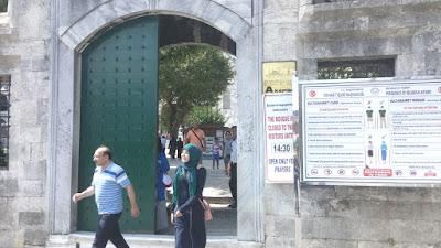 Sultanahmet Camii A kapısı girişi fotoğrafı