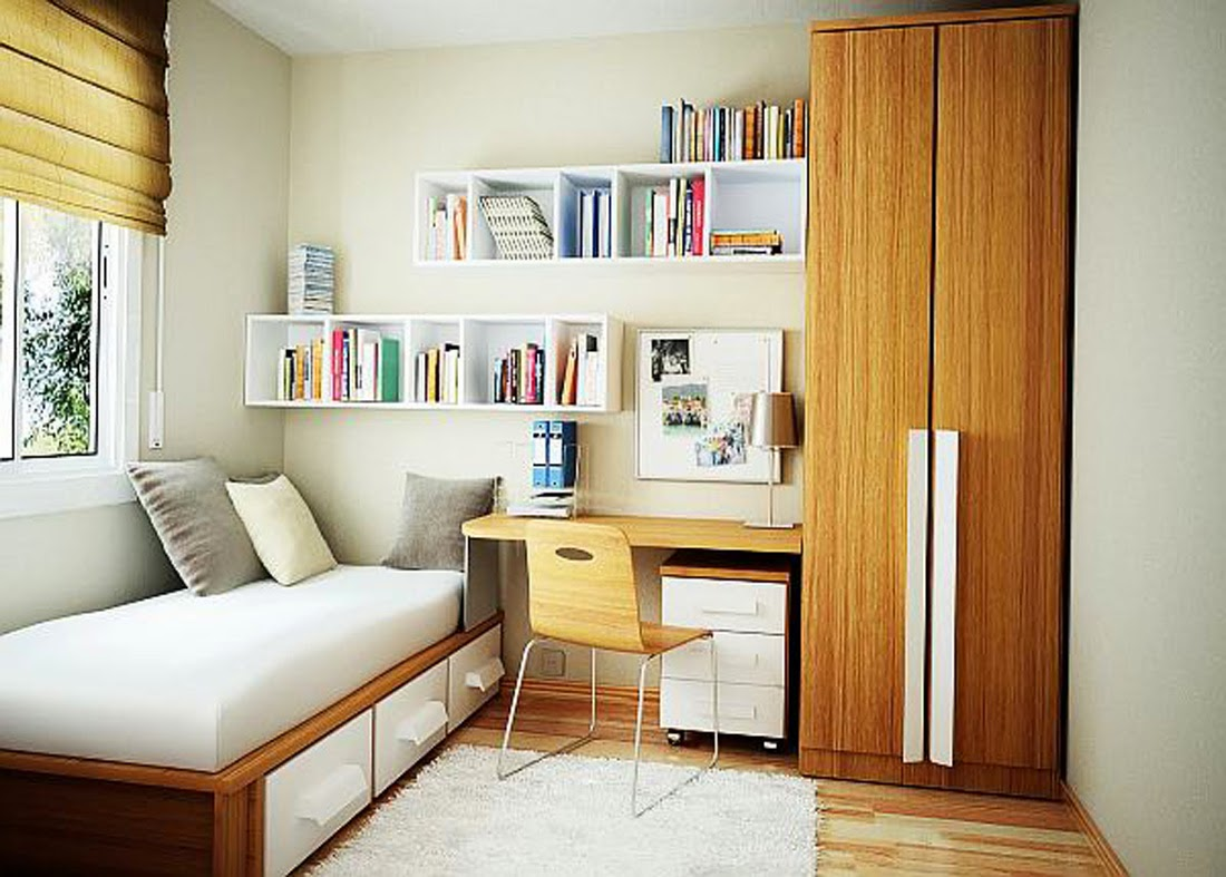 45 small and compact bedroom solutions neat homes [ 1100 x 787 Pixel ]