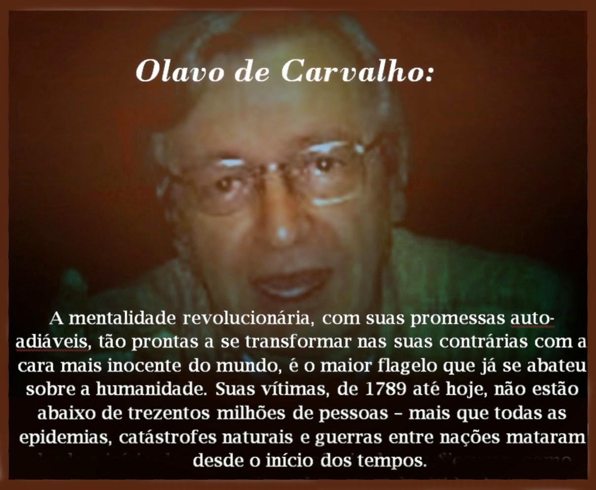 Por Miltinho De Carvalho Uma Mensagem: Oséias 4-6: Revolução Por Olavo De Carvalho