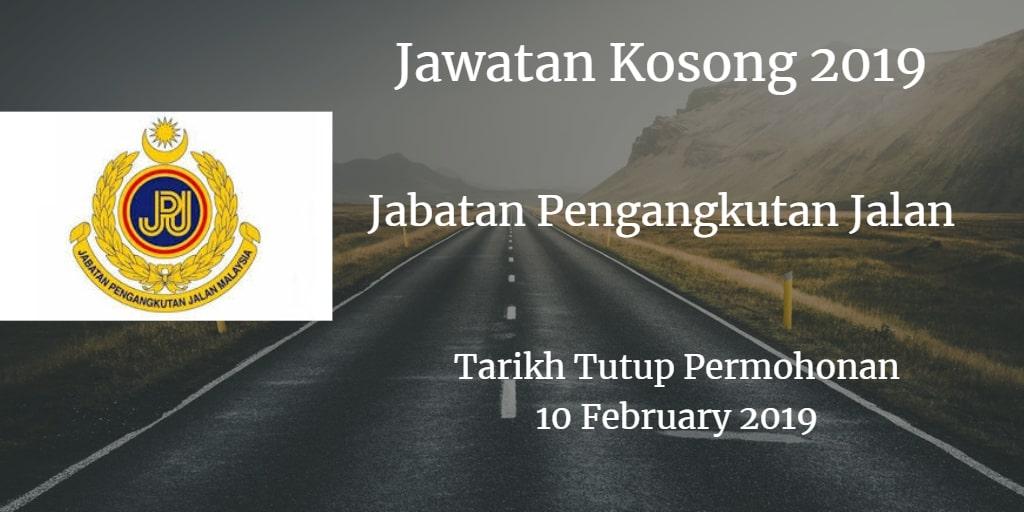 Jawatan Kosong JPJ 10 February 2019