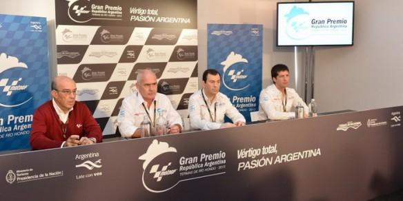 Presentaron en Holanda el GP de Argentina de Moto Gp