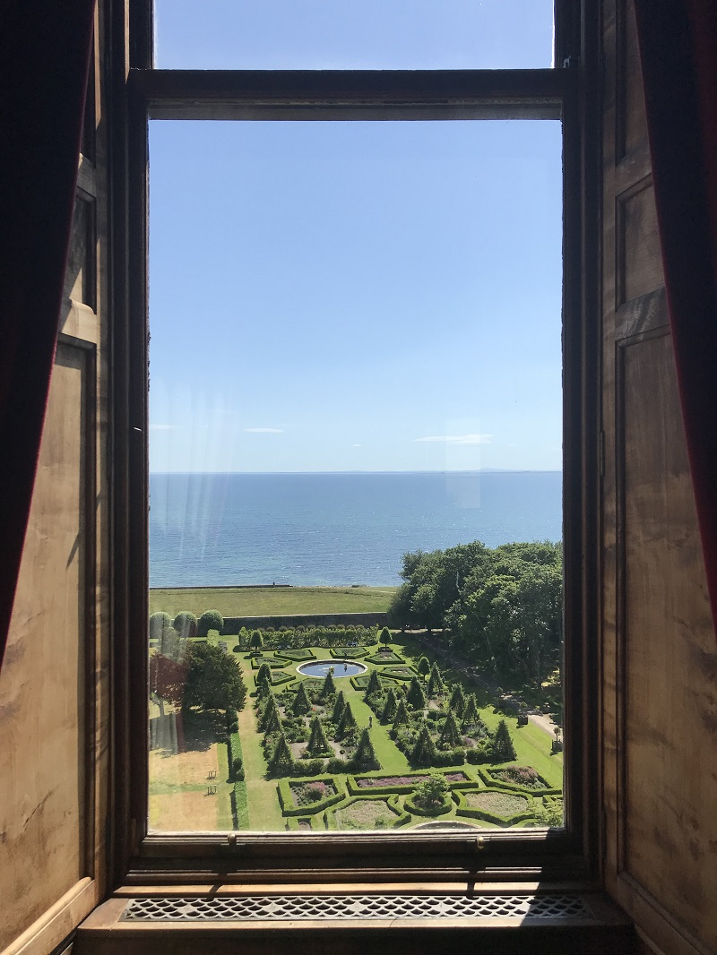 View from Dunrobin castle