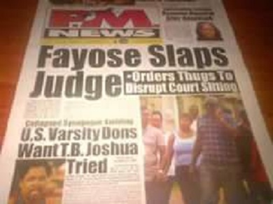 Fayose Slaps Judge: Where Was The NBA?